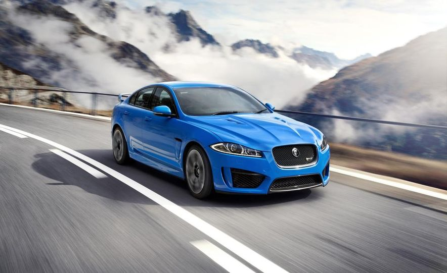 2015 Jaguar XFR-S Sportbrake (spy photo) - Slide 9