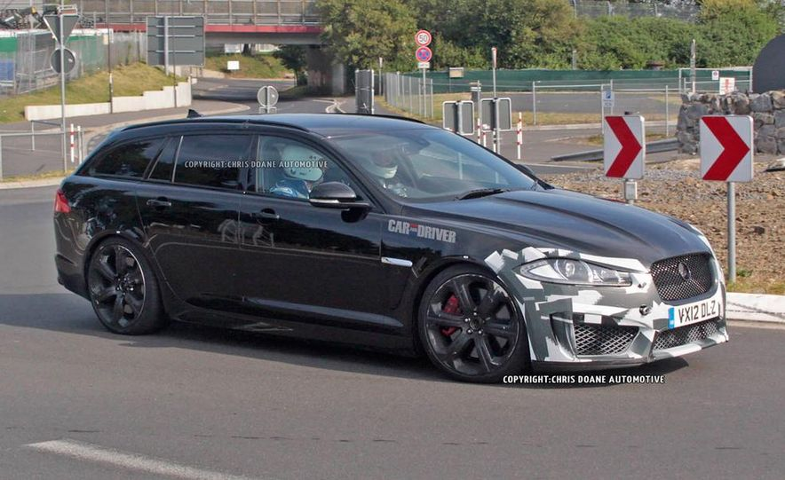 2015 Jaguar XFR-S Sportbrake (spy photo) - Slide 2