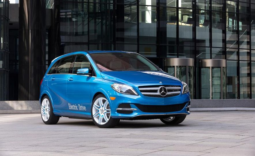 2014 Mercedes-Benz B-Class Electric Drive - Slide 1