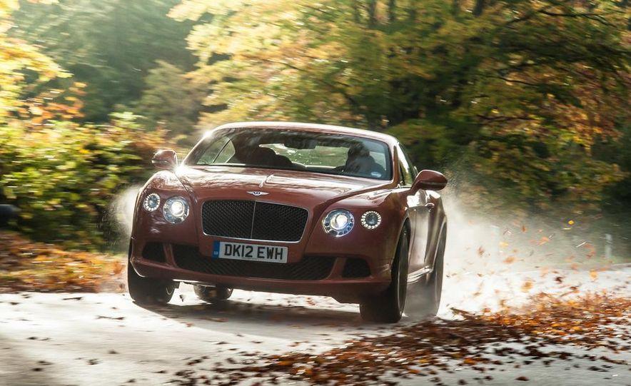 2014 Bentley Continental GT Speed W-12 - Slide 1