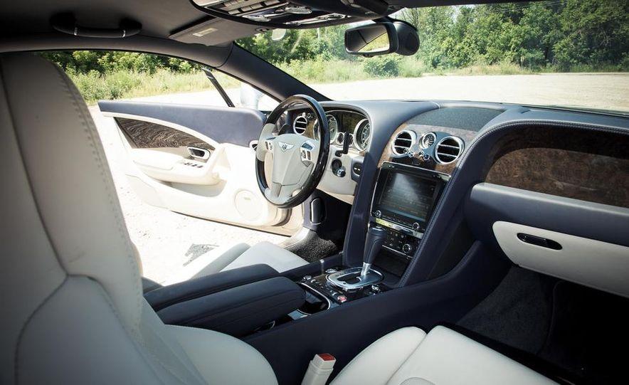 2014 Bentley Continental GT Speed W-12 - Slide 14