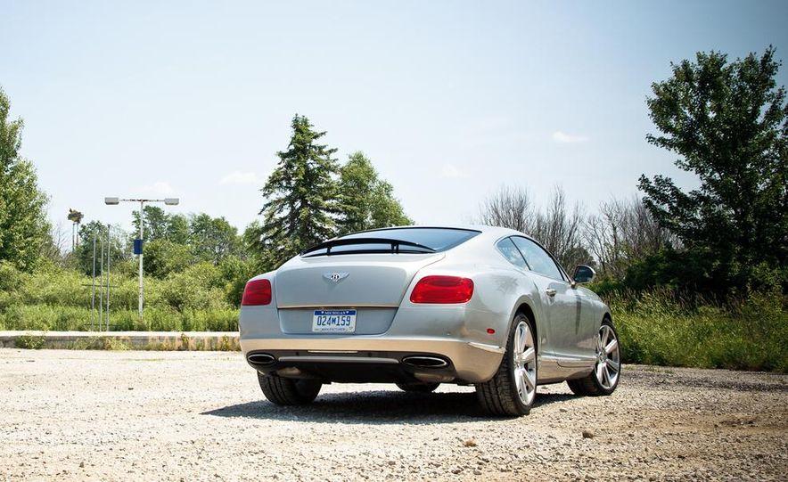 2014 Bentley Continental GT Speed W-12 - Slide 13