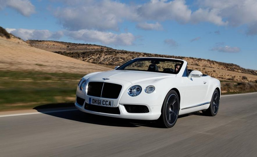 2014 Bentley Continental GT Speed W-12 - Slide 16