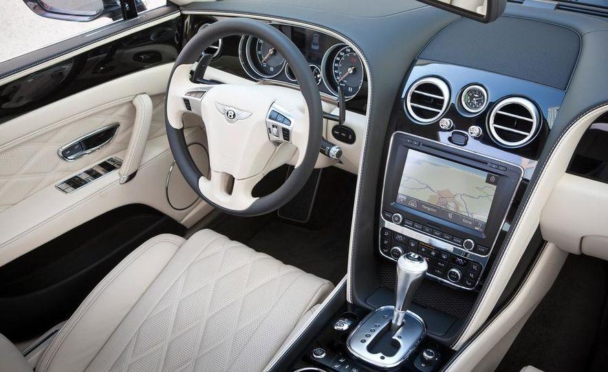 2014 Bentley Continental GT Speed W-12 - Slide 23