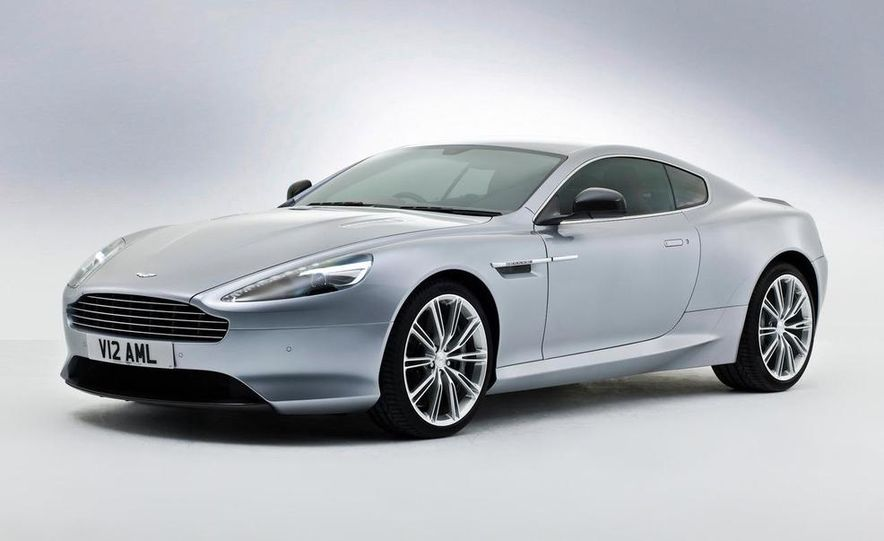 2014 Aston Martin DB9 - Slide 1