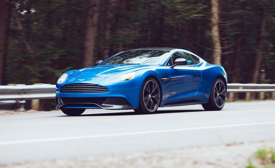 2014 Aston Martin DB9 - Slide 13