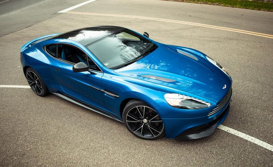 2014 Aston Martin DB9 - Slide 14
