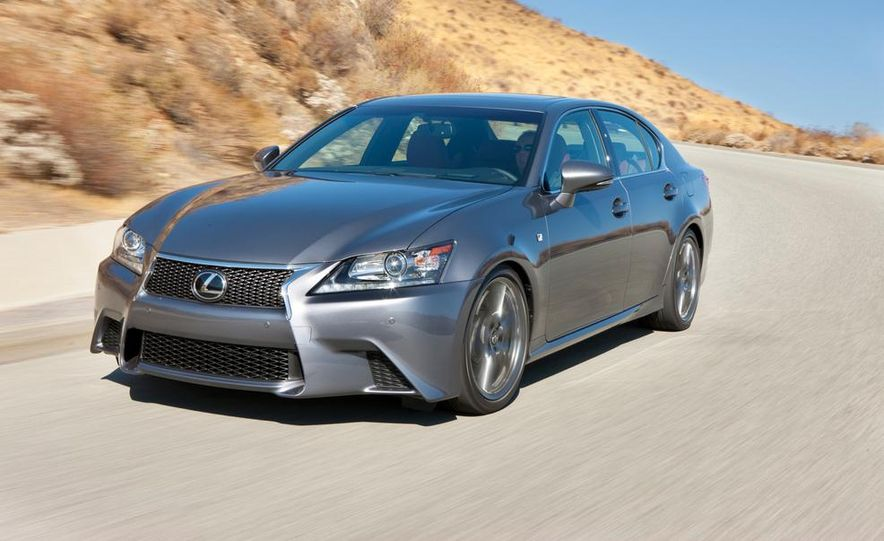 2015 Lexus GS F (spy photo) - Slide 10