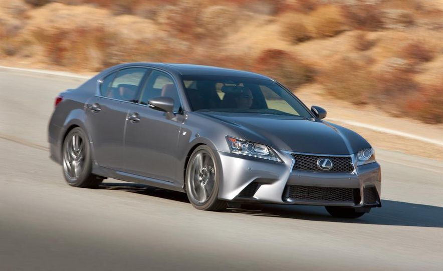 2015 Lexus GS F (spy photo) - Slide 11