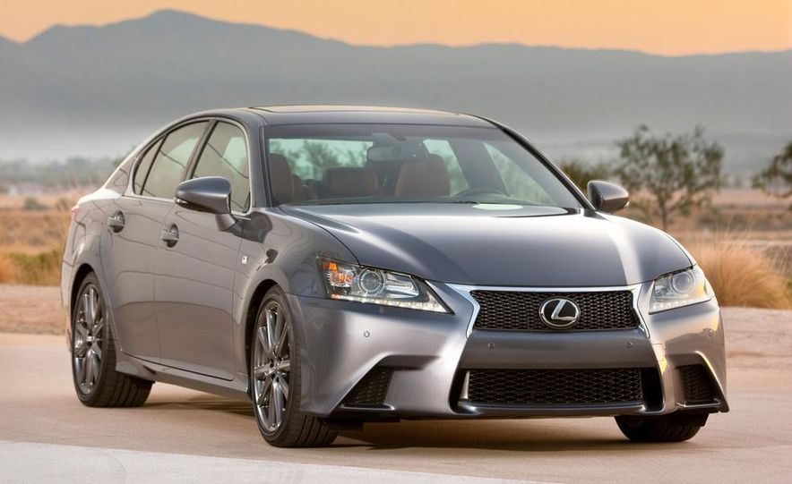 2015 Lexus GS F (spy photo) - Slide 13
