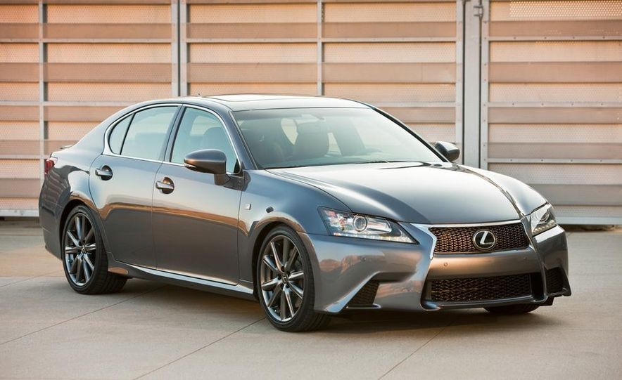 2015 Lexus GS F (spy photo) - Slide 14
