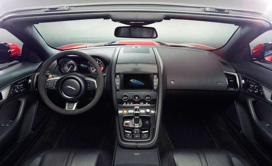 2014 Jaguar F-type V-8 S - Slide 26