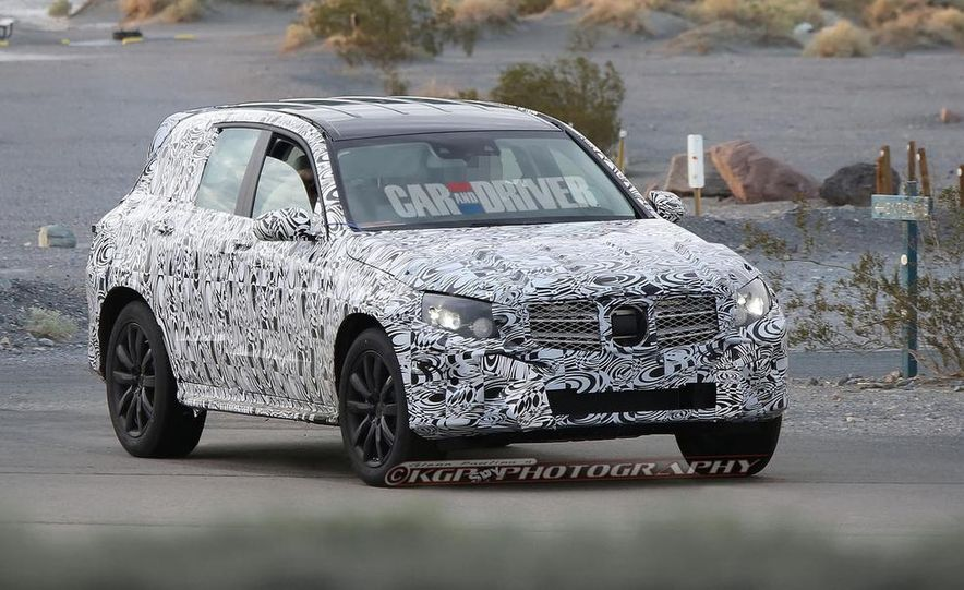 2016 Mercedes-Benz GLK-class (spy photo) - Slide 1