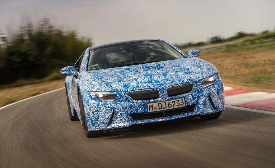 2015 BMW i8 prototypes - Slide 7
