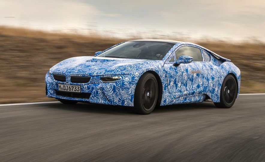 2015 BMW i8 prototypes - Slide 8