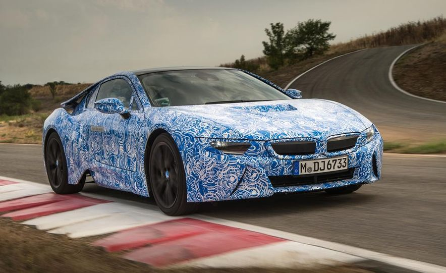 2015 BMW i8 prototypes - Slide 9