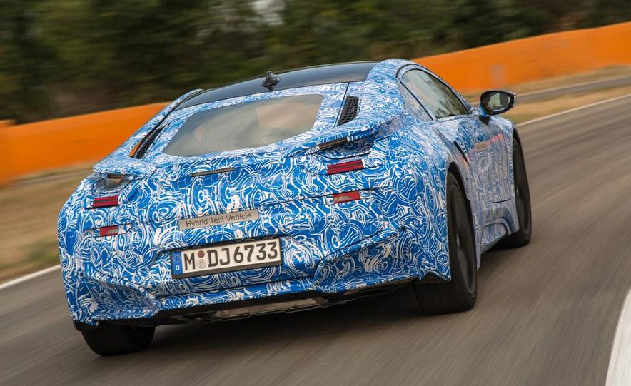 2015 BMW i8 prototypes - Slide 10
