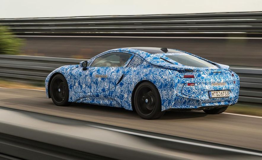 2015 BMW i8 prototypes - Slide 13