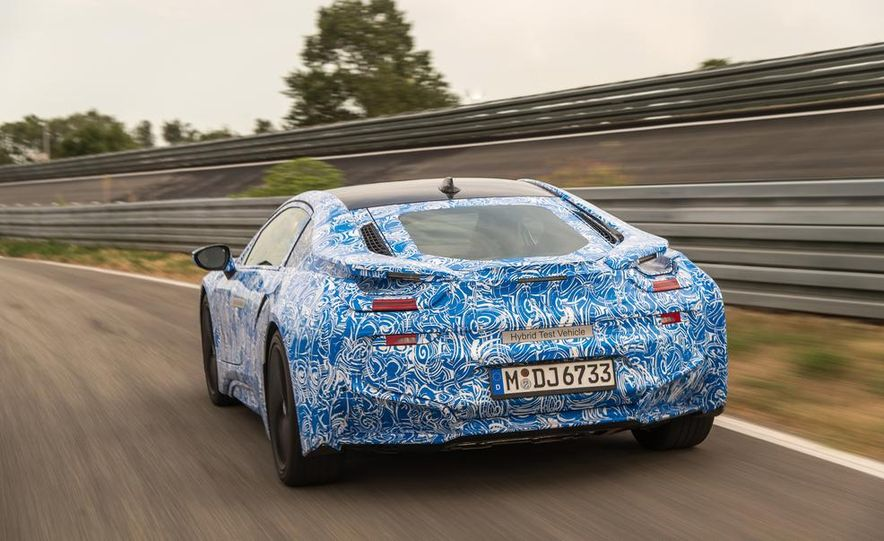2015 BMW i8 prototypes - Slide 14