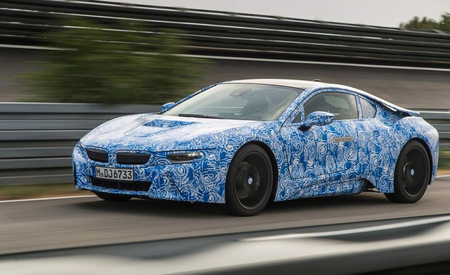 2015 BMW i8 prototypes - Slide 15