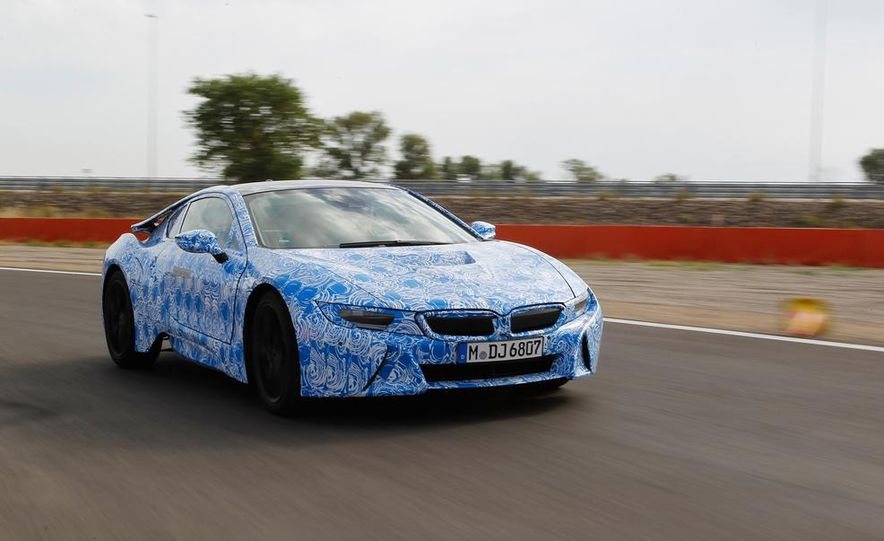 2015 BMW i8 prototypes - Slide 16