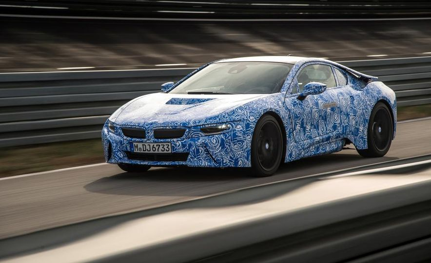 2015 BMW i8 prototypes - Slide 20