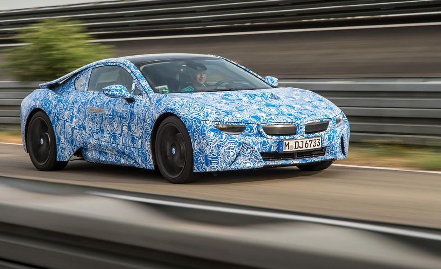 2015 BMW i8 prototypes - Slide 21