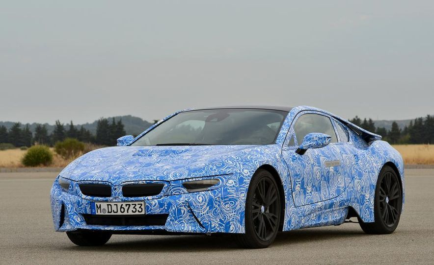 2015 BMW i8 prototypes - Slide 26
