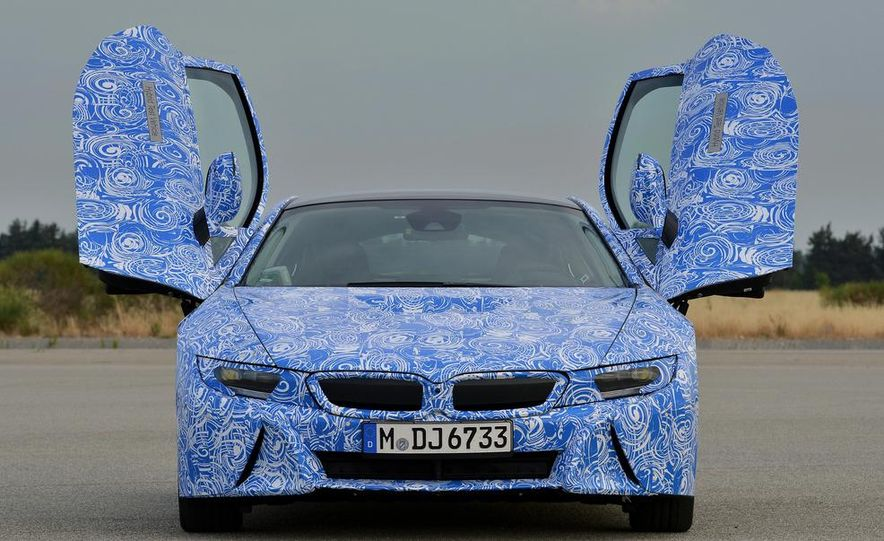 2015 BMW i8 prototypes - Slide 30
