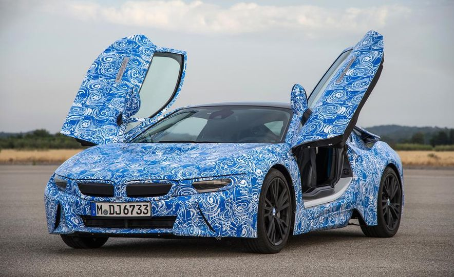 2015 BMW i8 prototypes - Slide 31