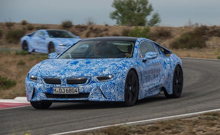 2015 BMW i8 prototypes - Slide 1