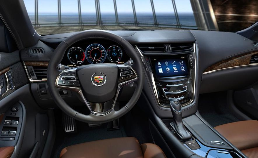 2014 Cadillac CTS Vsport - Slide 27
