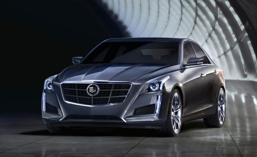 2014 Cadillac CTS Vsport - Slide 17