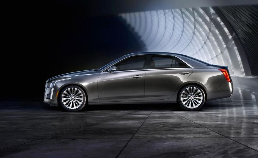 2014 Cadillac CTS Vsport - Slide 18
