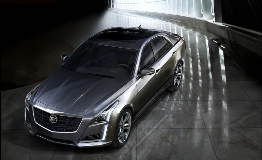 2014 Cadillac CTS Vsport - Slide 20