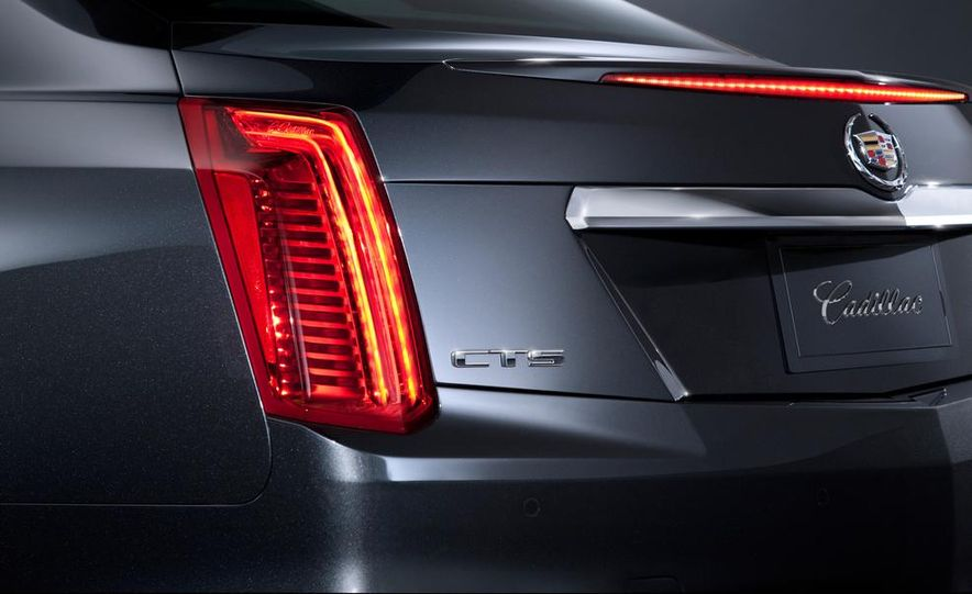2014 Cadillac CTS Vsport - Slide 24
