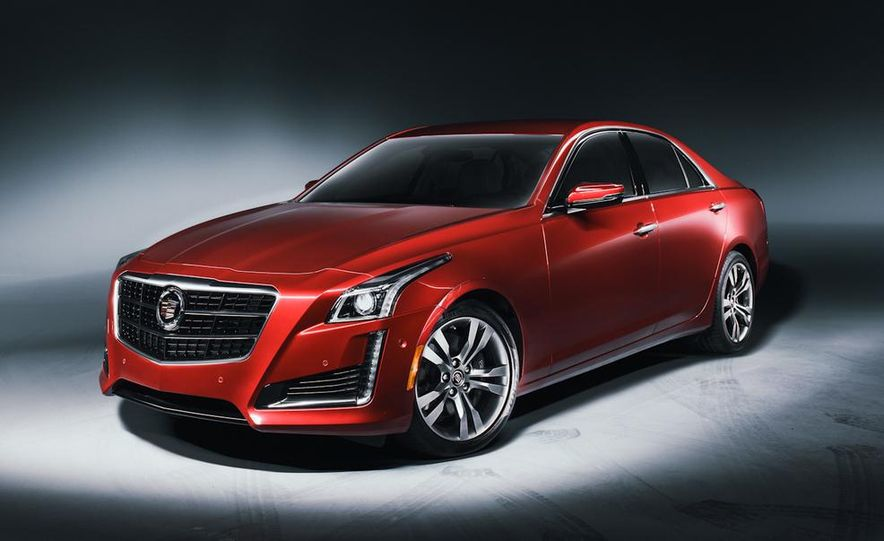 2014 Cadillac CTS Vsport - Slide 1