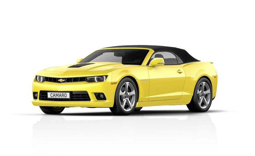 2014 Chevrolet Camaro convertible - Slide 21