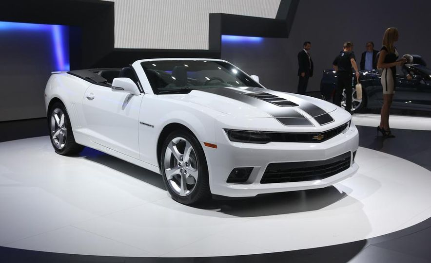 2014 Chevrolet Camaro convertible - Slide 4