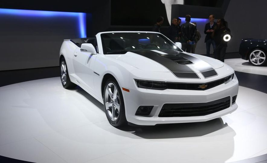 2014 Chevrolet Camaro convertible - Slide 5