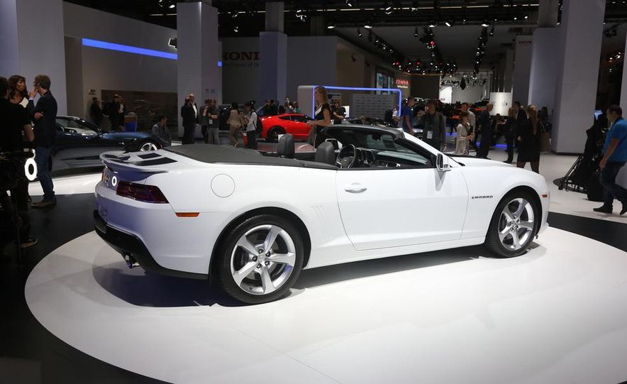2014 Chevrolet Camaro convertible - Slide 8