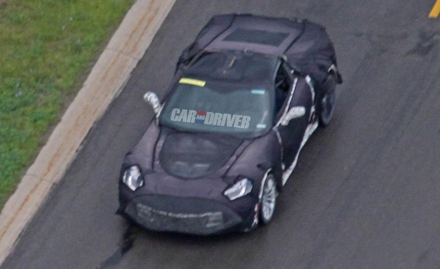 2016 Chevrolet Corvette Z07 (spy photo) - Slide 1