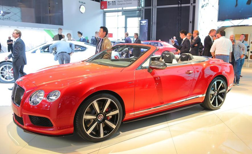 2014 Bentley Continental GT V8 S convertible - Slide 3