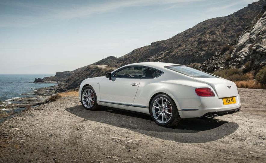 2014 Bentley Continental GT V8 S convertible - Slide 25