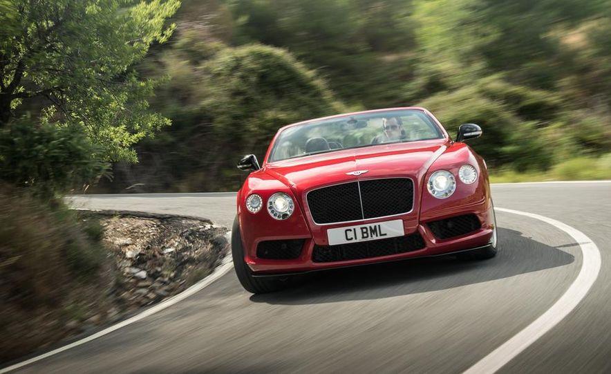 2014 Bentley Continental GT V8 S convertible - Slide 35