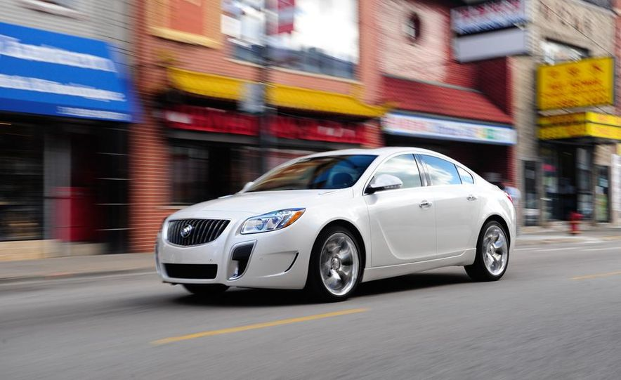 2014 Buick Regal GS - Slide 27