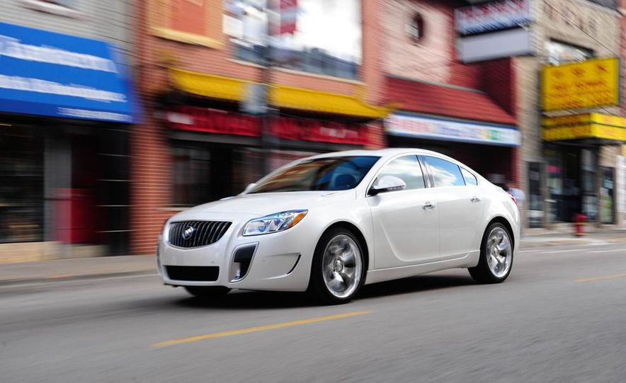 2014 Buick Regal GS - Slide 36