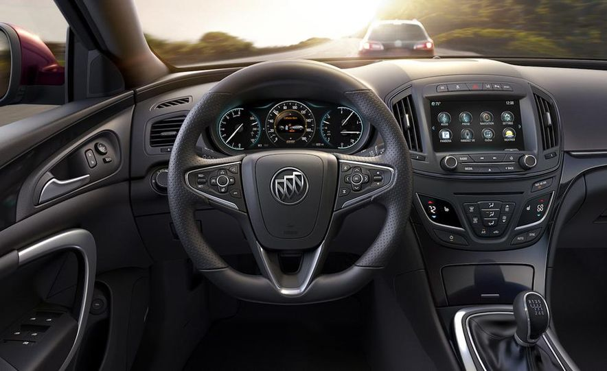 2014 Buick Regal GS - Slide 12