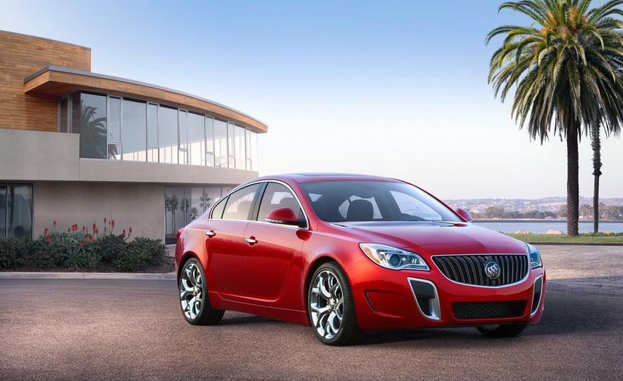 2014 Buick Regal GS - Slide 9