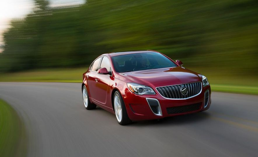 2014 Buick Regal GS - Slide 1